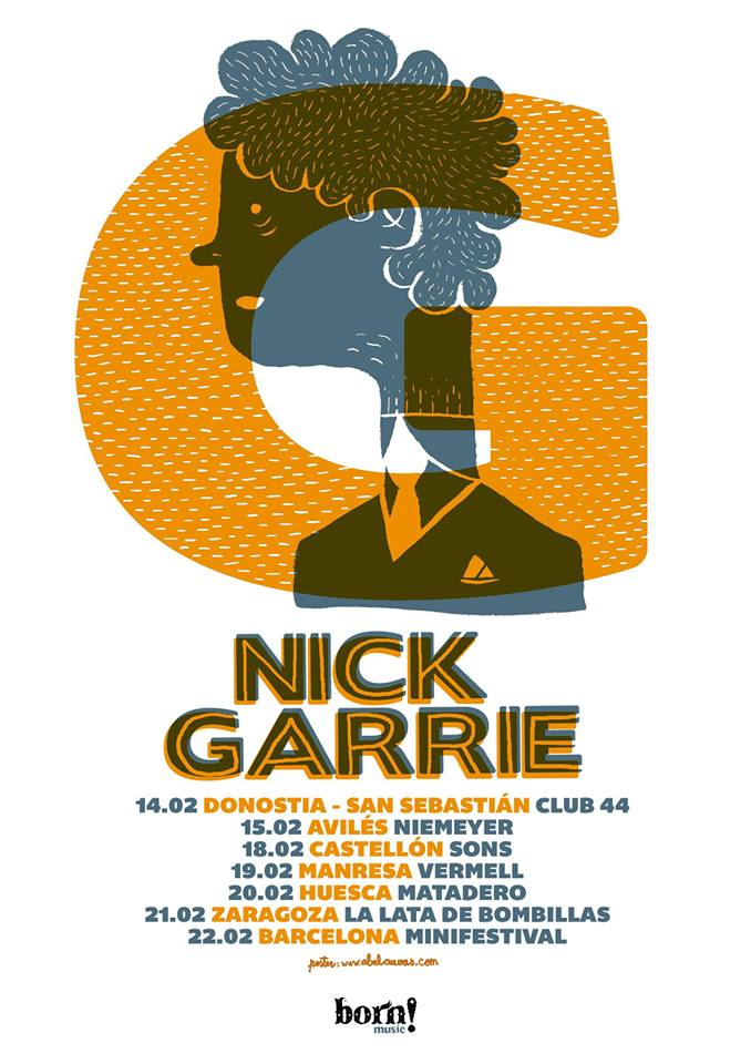 Nick Garrie Spain Tour